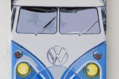 ©Achim-Käflein-VW Bulli Kunstdruck  Bullitreffen Kals am Großglockner