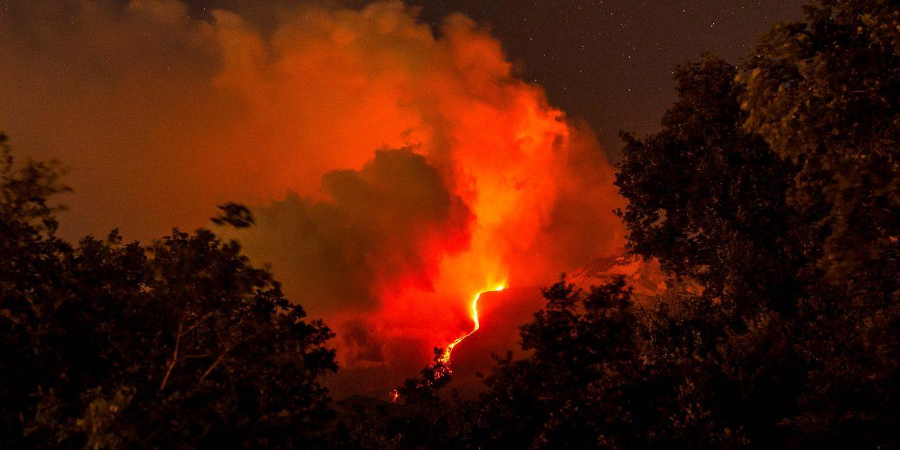 Ätna Ausbruch Sizilien 30.05. 2019