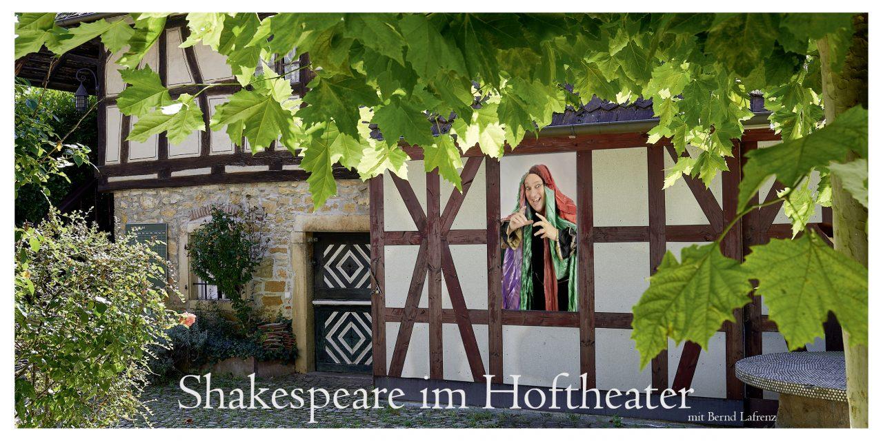 Ateliereinweihung mit Shakespeare